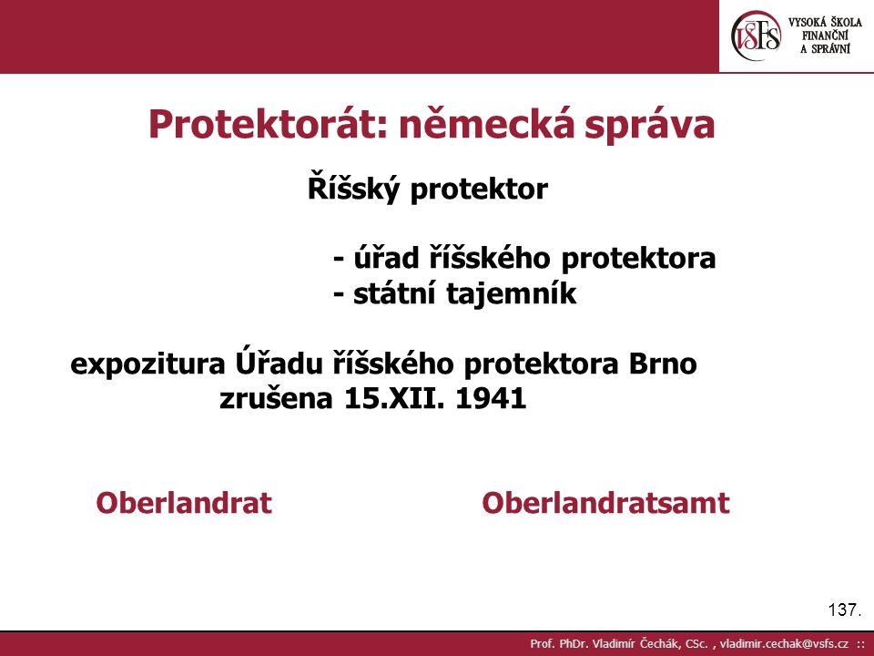 137. Prof. PhDr.
