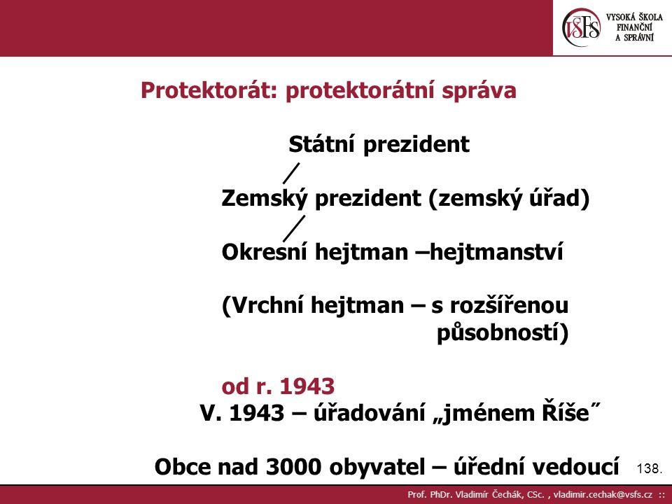 138. Prof. PhDr.