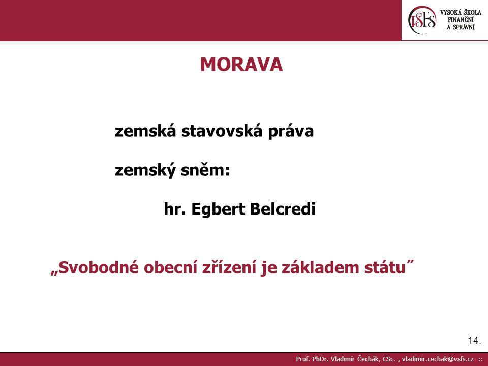 14. Prof. PhDr.