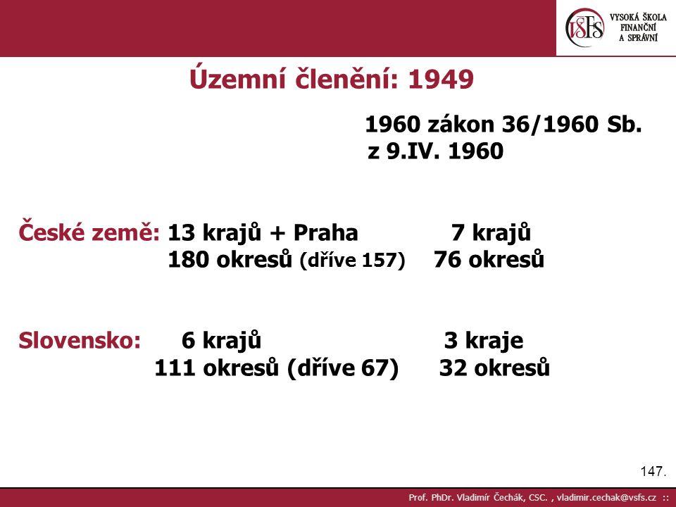 147. Prof. PhDr.