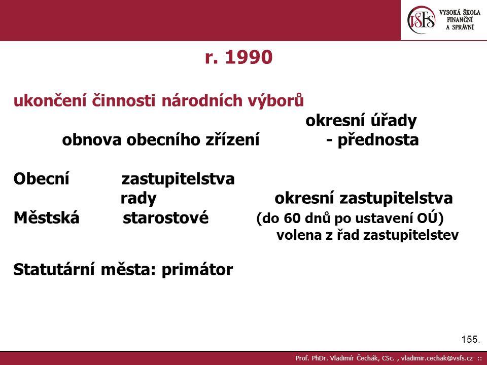 155. Prof. PhDr. Vladimír Čechák, CSc., vladimir.cechak@vsfs.cz :: r.