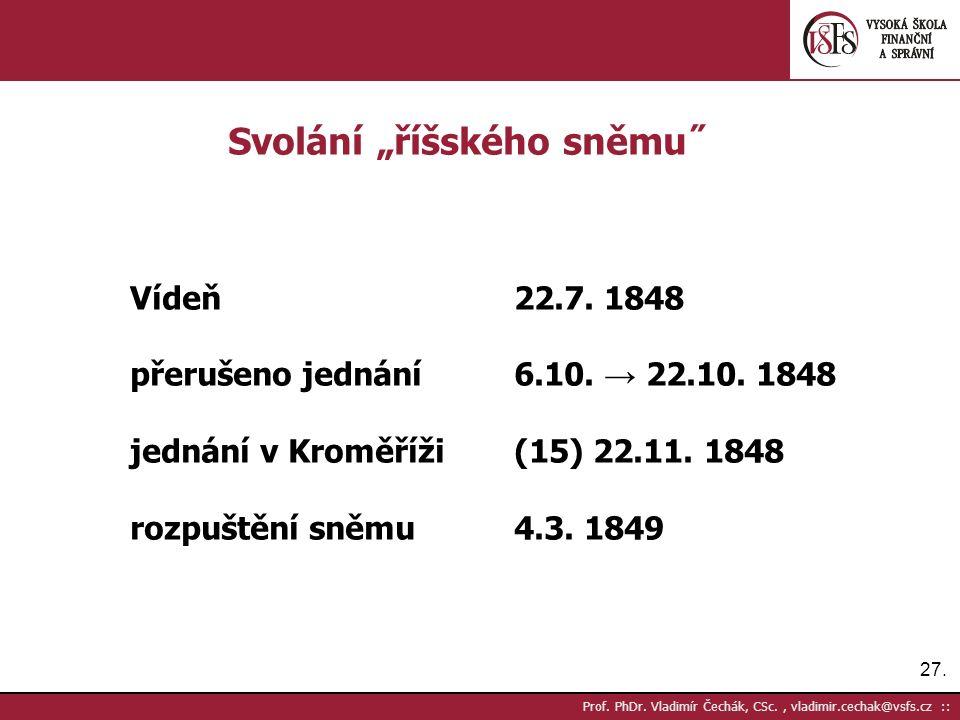 27. Prof. PhDr.