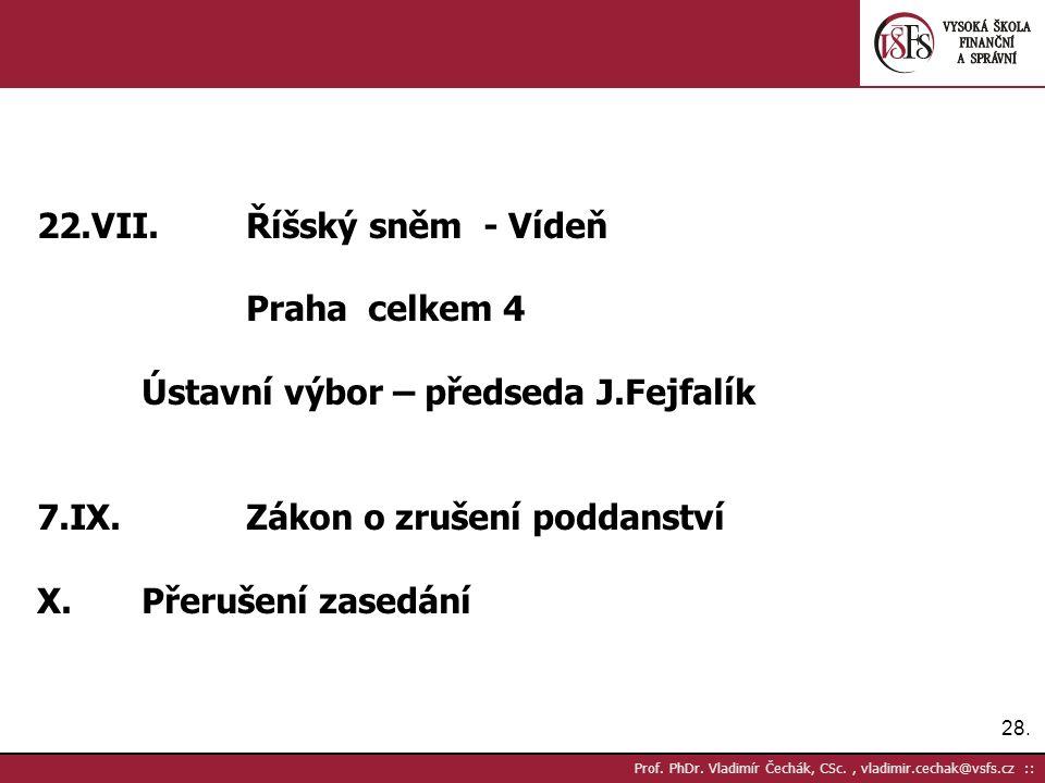 28. Prof. PhDr.