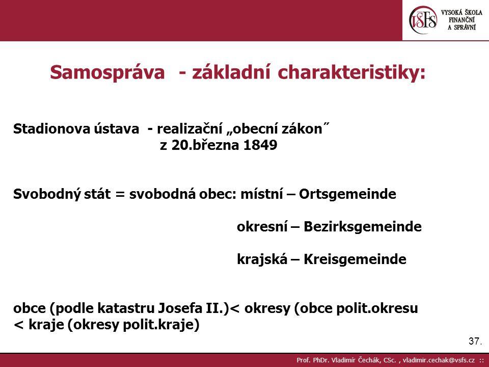 37. Prof. PhDr.