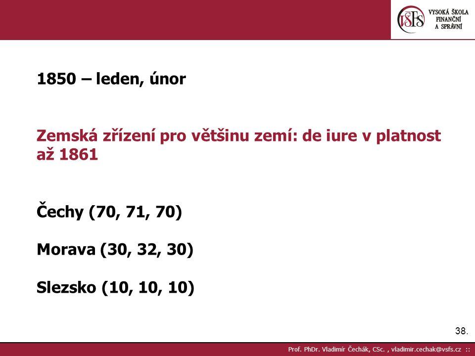 38. Prof. PhDr.