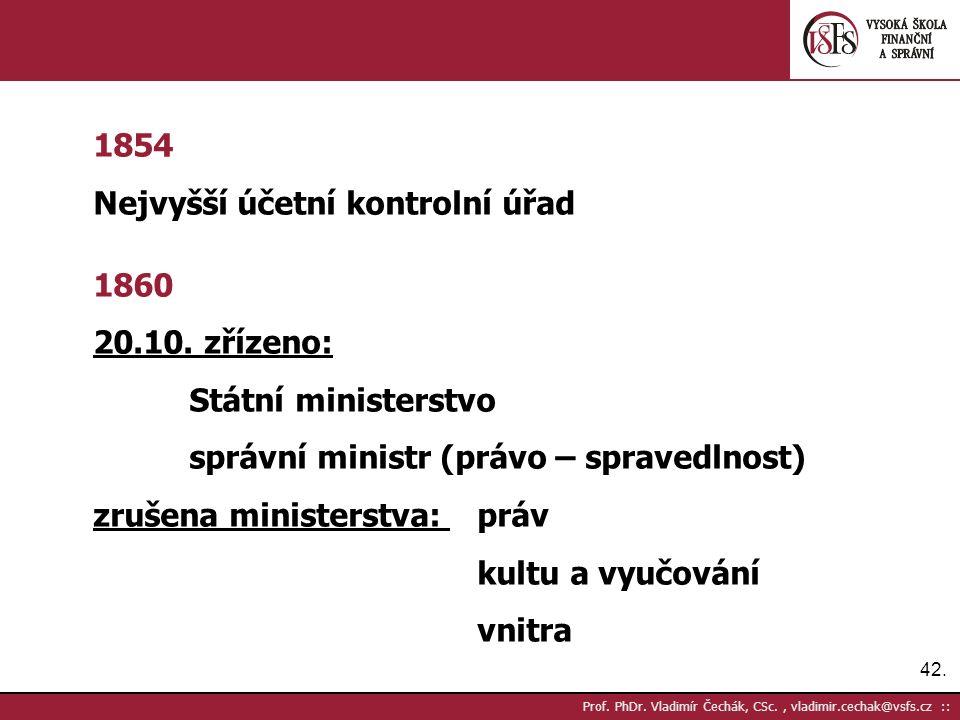 42. Prof. PhDr.