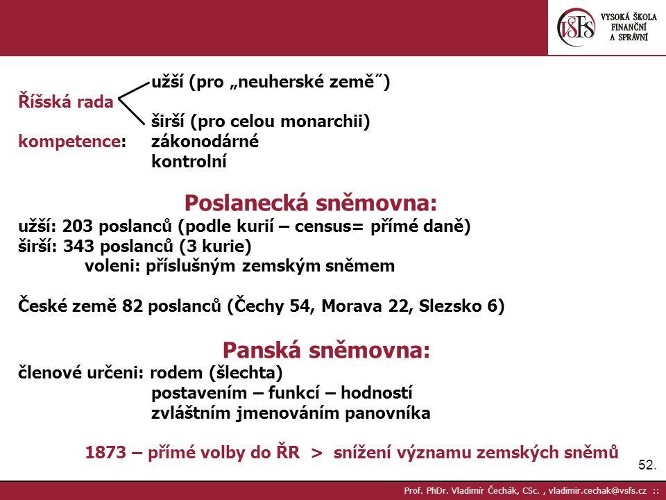 52. Prof. PhDr.