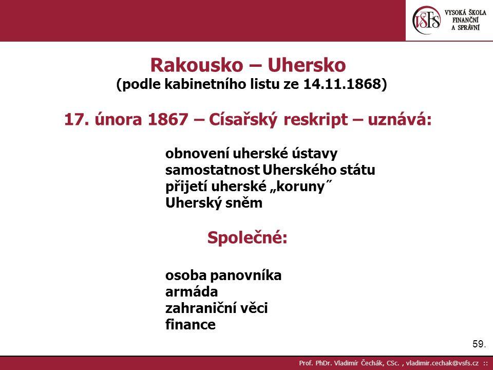 59. Prof. PhDr.