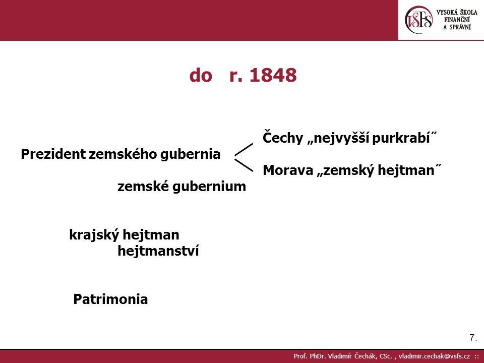 7.7. Prof. PhDr. Vladimír Čechák, CSc., vladimir.cechak@vsfs.cz :: do r.