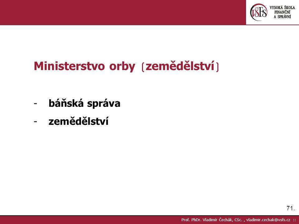 71. Prof. PhDr.