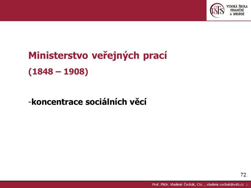 72. Prof. PhDr.