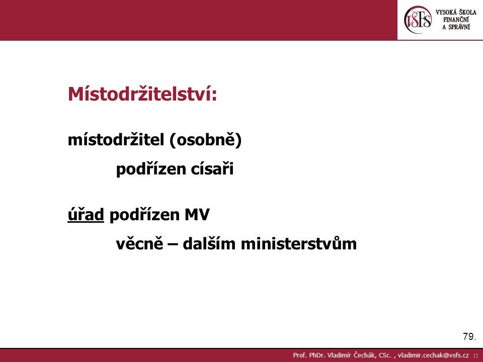 79. Prof. PhDr.