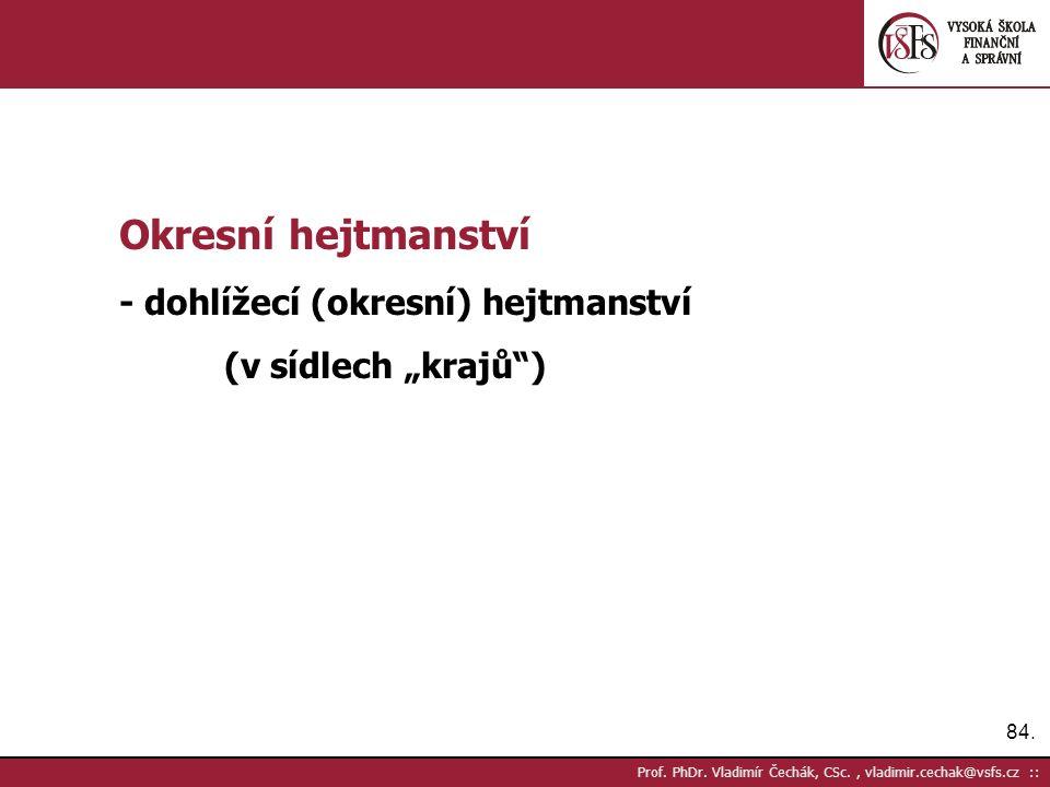 84. Prof. PhDr.