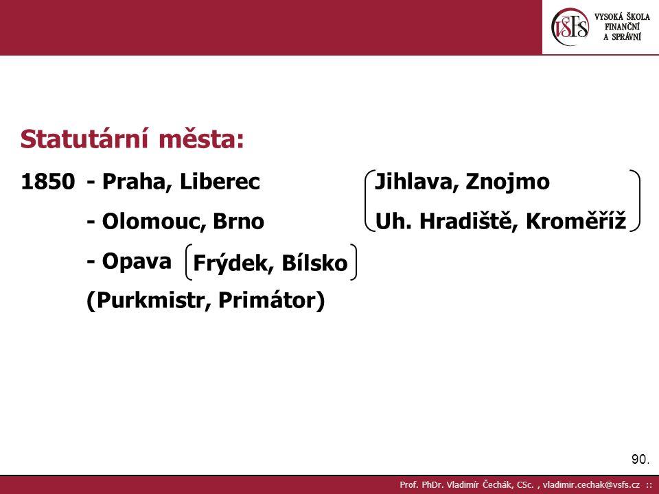 90. Prof. PhDr.