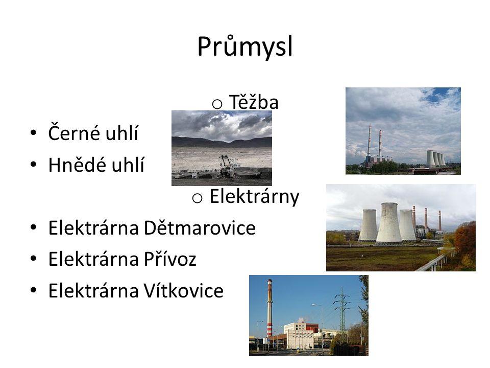 Průmysl o Specifikace Těžba Hutnictví Výroba el.