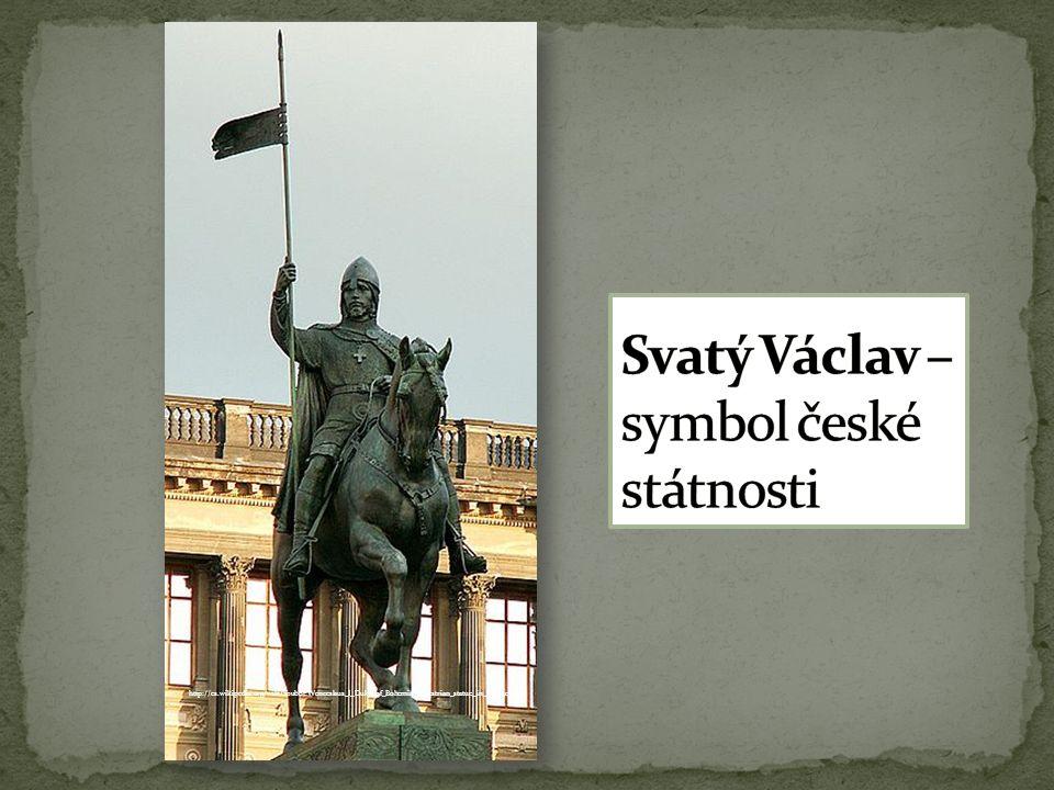http://cs.wikipedia.org/wiki/Soubor:Wenceslaus_I_Duke_of_Bohemia_equestrian_statue_in_Prague_1.jpg
