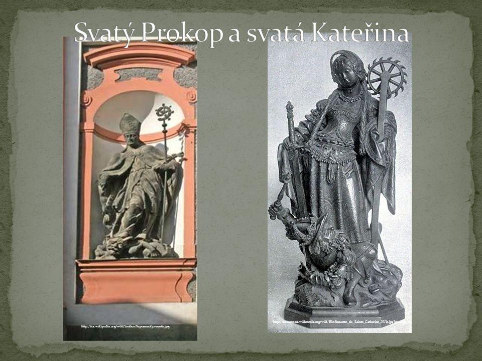 http://commons.wikimedia.org/wiki/File:Statuette_de_Sainte_Catherine_XVIe.jpg uselang=cs http://cs.wikipedia.org/wiki/Soubor:Nepomucky2-20061.jpg