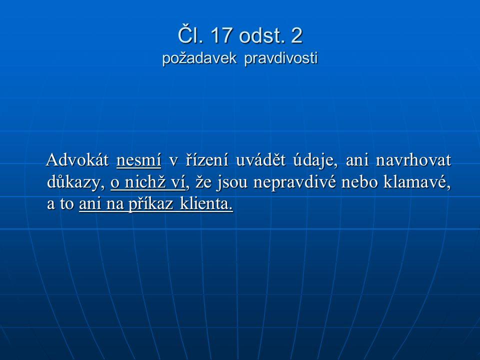Čl. 17 odst.