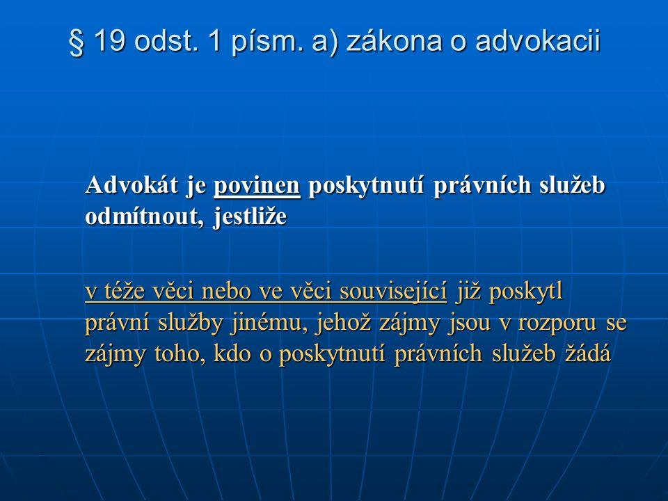 § 19 odst. 1 písm.