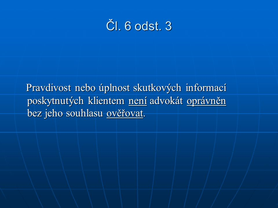 Čl. 6 odst.