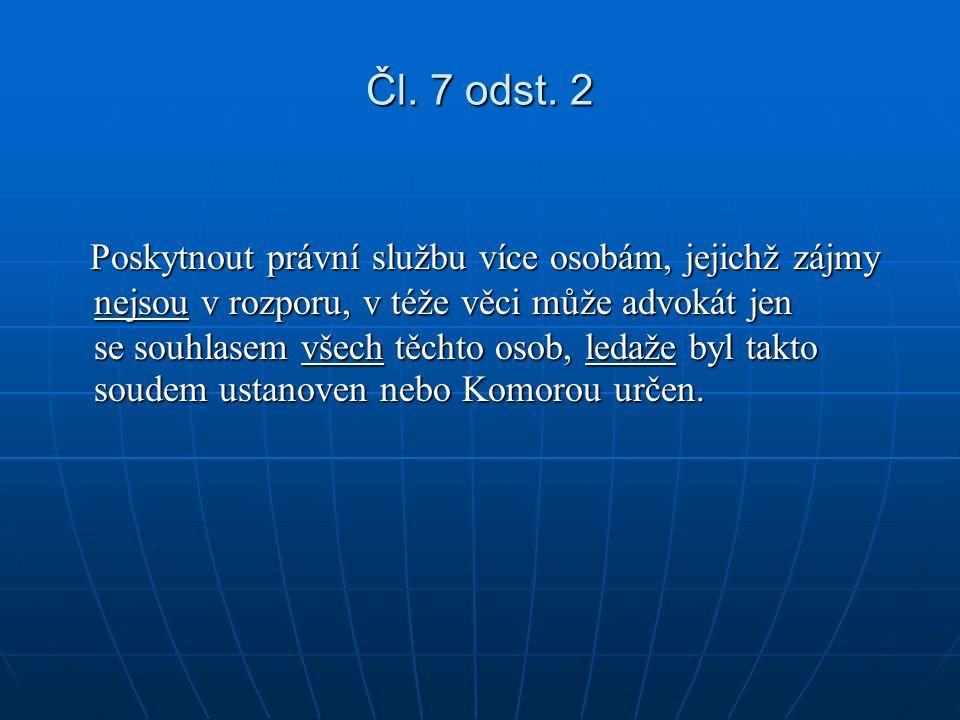 Čl. 7 odst.
