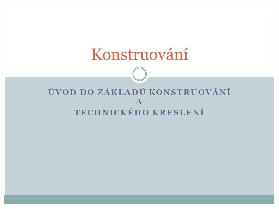 Volba materiálu Hutní materiál (tvářené polotovary) – tyče, U, I – profily, plechy apod.
