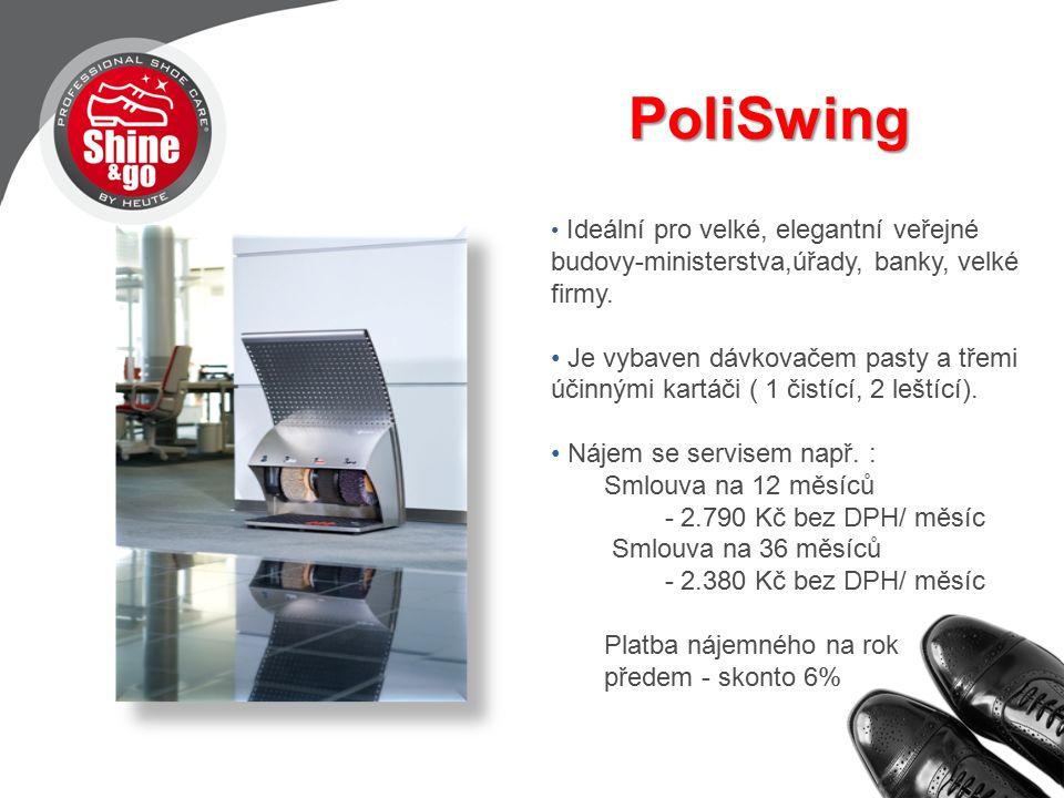 PoliSwing PoliSwing Ideální pro velké, elegantní veřejné budovy-ministerstva,úřady, banky, velké firmy.