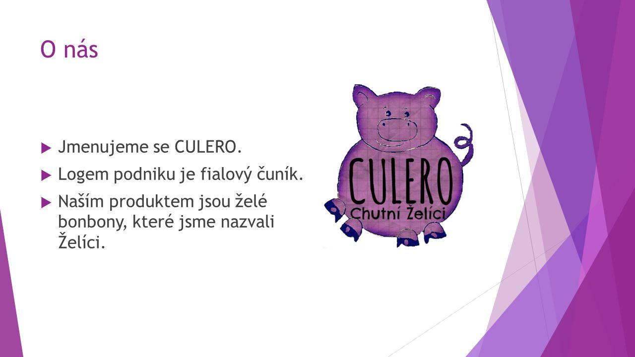 O nás  Jmenujeme se CULERO.  Logem podniku je fialový čuník.
