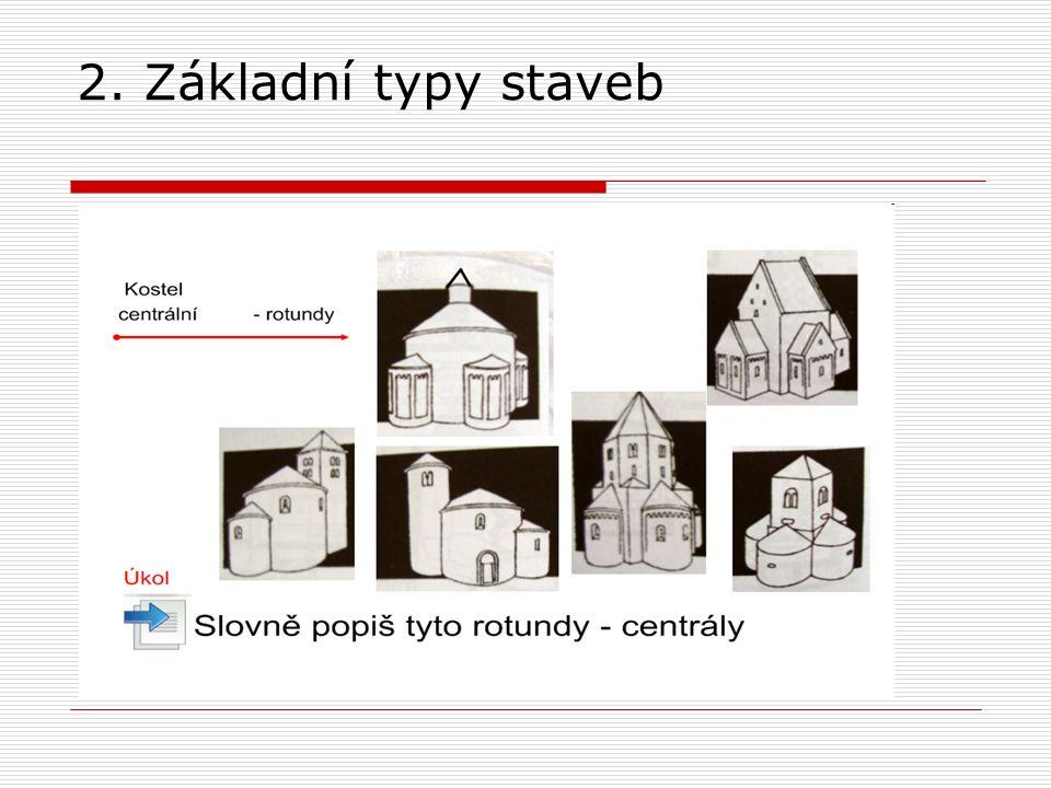 2. Základní typy staveb