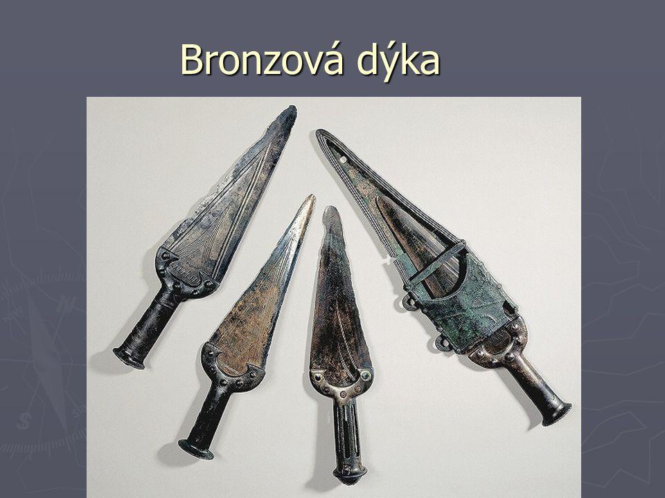 Bronzový meč a štít