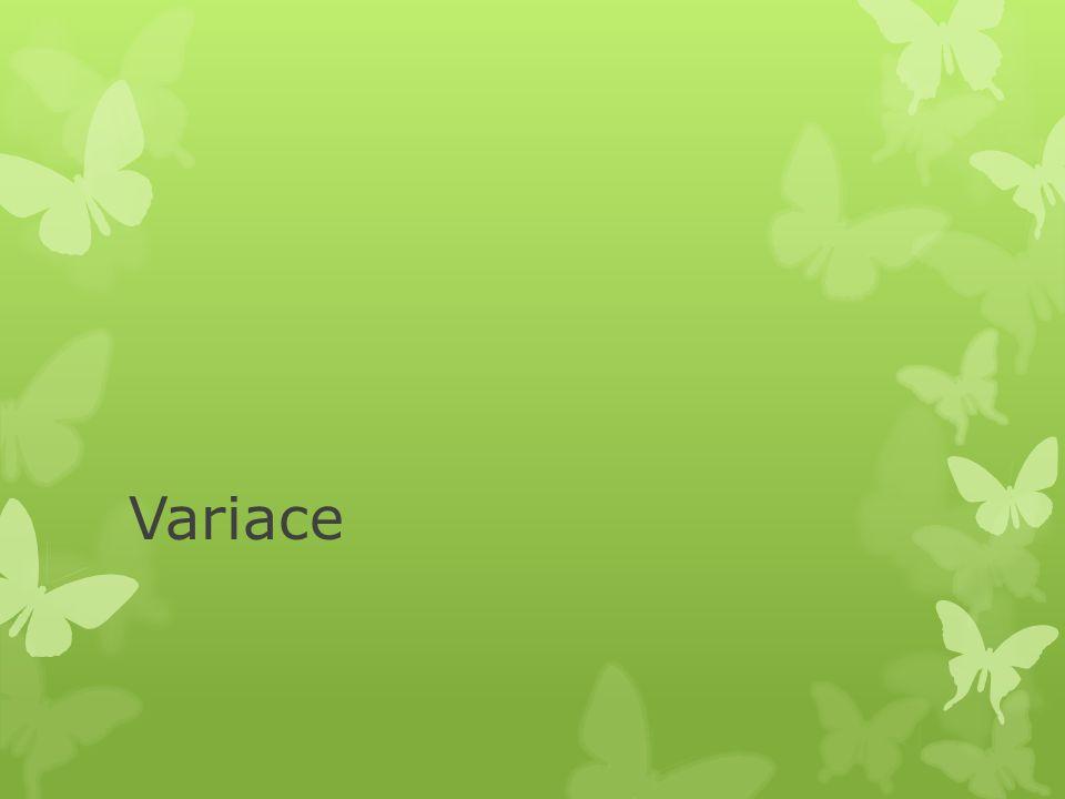 Variace
