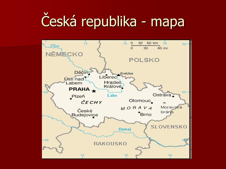 Správní členění ČR
