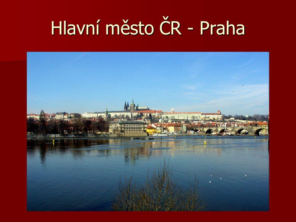 Hlavní město ČR - Praha