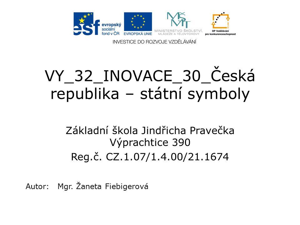 Vlajka prezidenta České republiky: