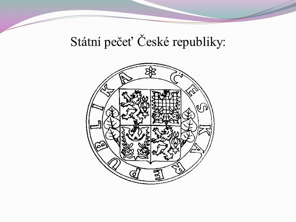 Malý státní znak České republiky: