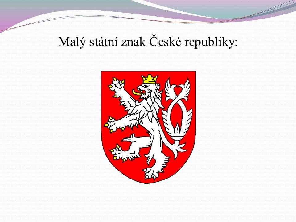 Velký státní znak České republiky:
