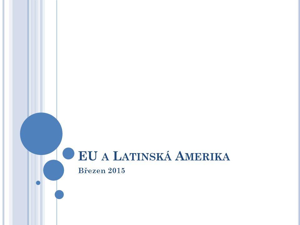 EU A L ATINSKÁ A MERIKA Březen 2015