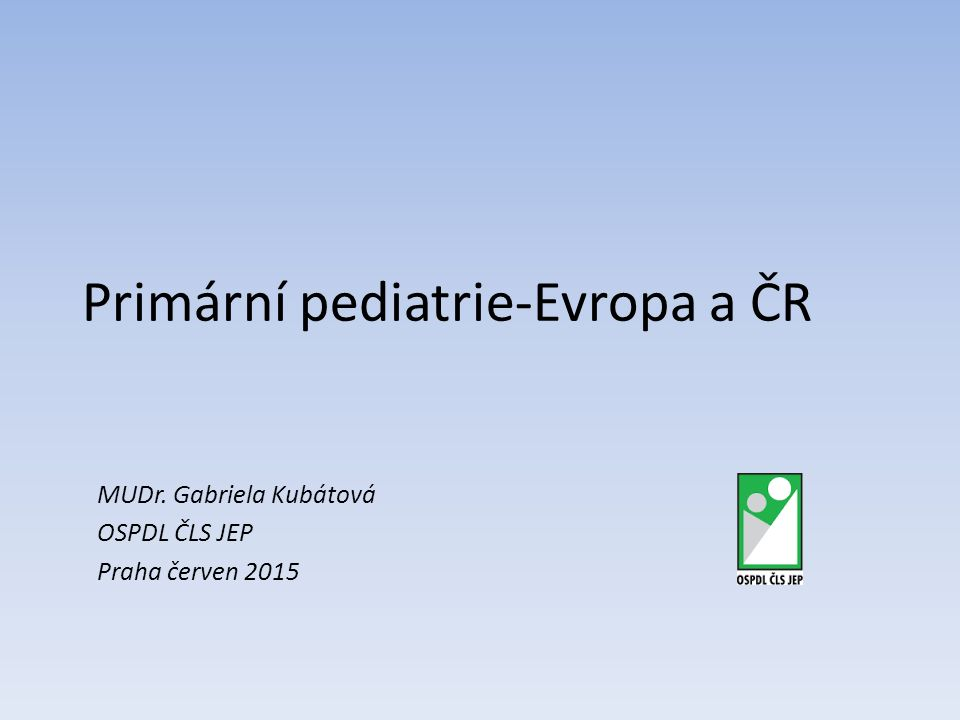 EAP ECPCP --------------------------------------------------- EAP-European academy of paediatrics UEMS-Union of european medical specialists- section of paediatrics Sídlo: Brussels Belgie