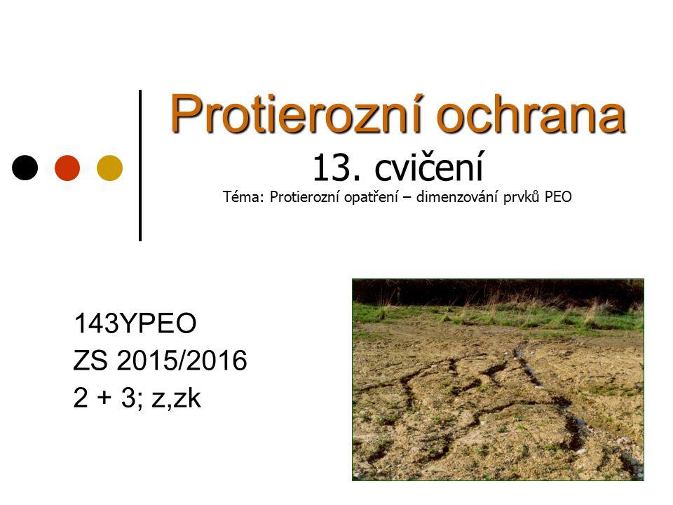 Protierozní ochrana 13.