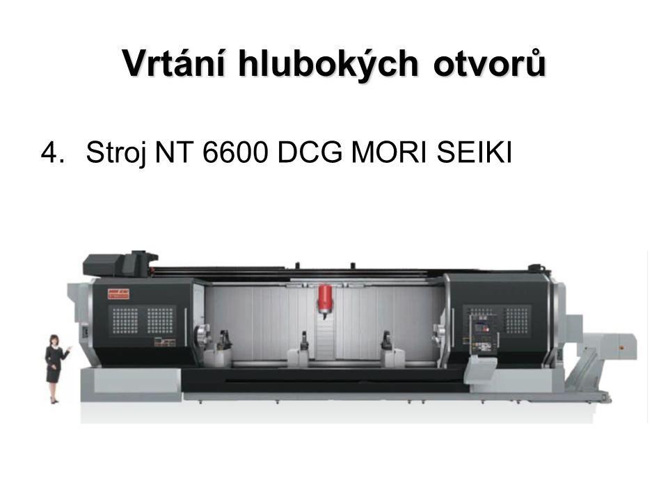 Vrtání hlubokých otvorů 4.Stroj NT 6600 DCG MORI SEIKI
