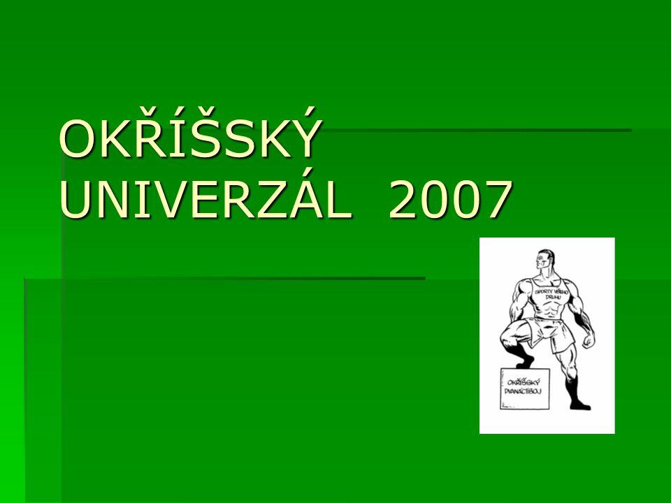 CELKOVÉ POŘADÍ junioři 13.Roman Dokulil 13. Lukáš Mašek 12.