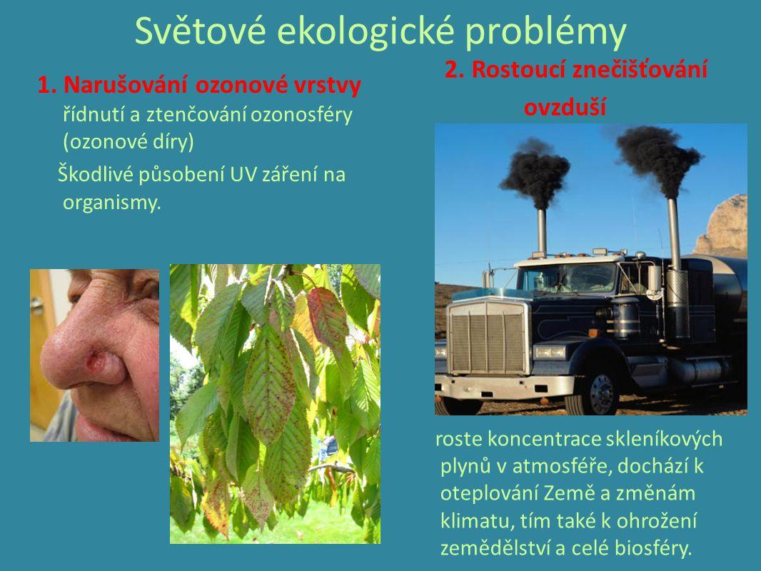 Světové ekologické problémy 1.