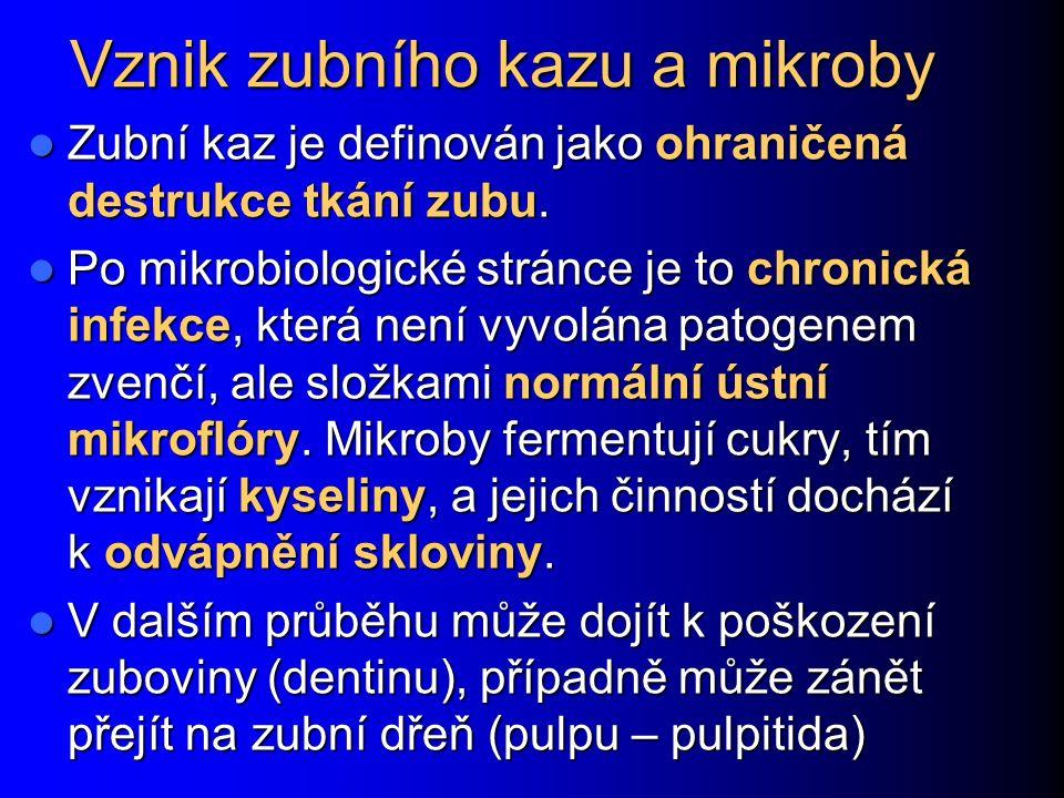 Parodontitis – shrnutí Modelové polymikrobiální onemocnění Modelové polymikrobiální onemocnění Ústní biofilm a interakce bakterií Ústní biofilm a interakce bakterií Významné mikroby – Porphyromonas gingivalis, Tannerella forsythia, Treponema denticola Významné mikroby – Porphyromonas gingivalis, Tannerella forsythia, Treponema denticola Ovlivnění zdraví v širokém rozsahu Ovlivnění zdraví v širokém rozsahu