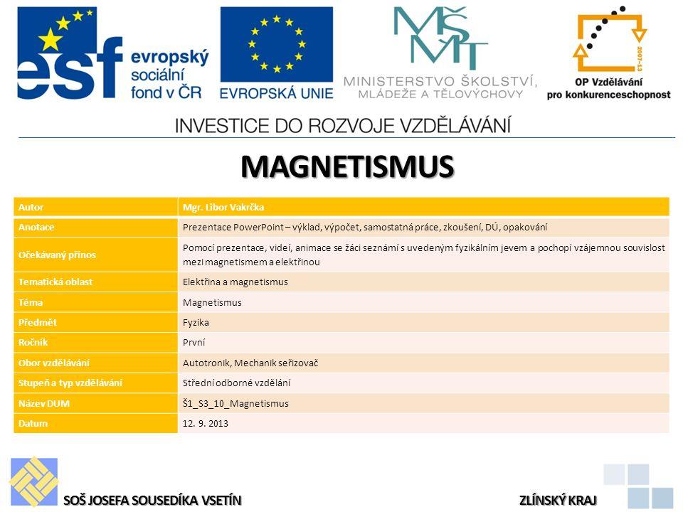 MAGNETISMUS AutorMgr.