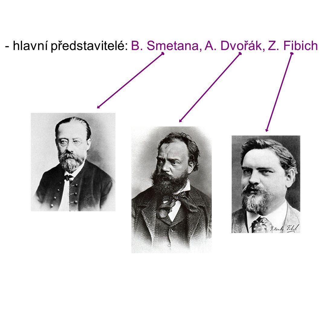 Bedřich Smetana (1824 - 1884) - narodil se v rodině panského sedláka v Litomyšli - gymnázium studoval v Jindřichově Hradci, Jihlavě, Německém Brodě a Praze - od roku 1830 se projevuje jeho velké hudební nadání - hudební vzdělání získal u Josefa Proksche