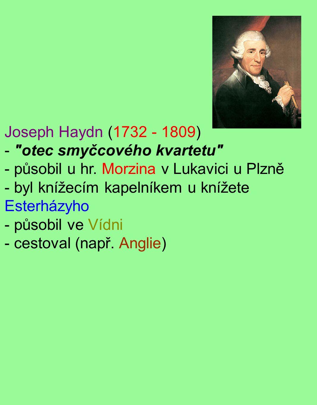 Joseph Haydn (1732 - 1809) -