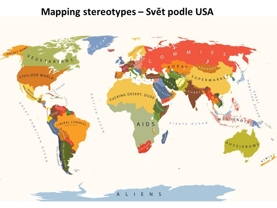 Mapping stereotypes – Svět podle USA