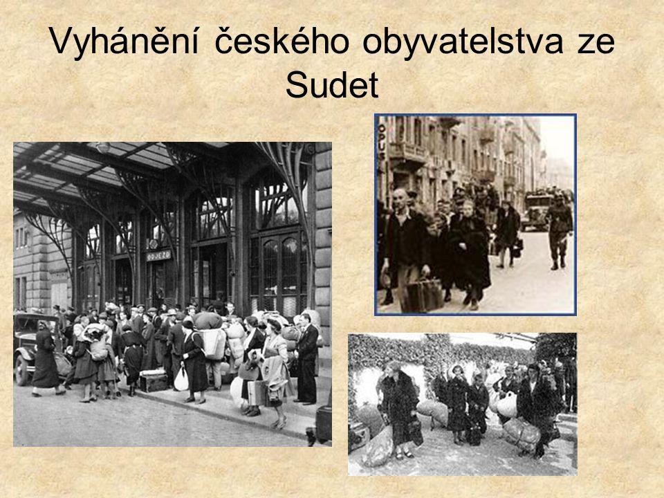 Vyhánění českého obyvatelstva ze Sudet