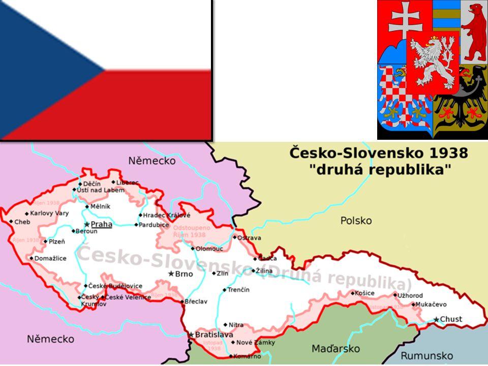 Druhá republika množství průmyslu, obranných opevnění, komunikací spolu s 33 % plochy českých zemí bylo ztraceno.