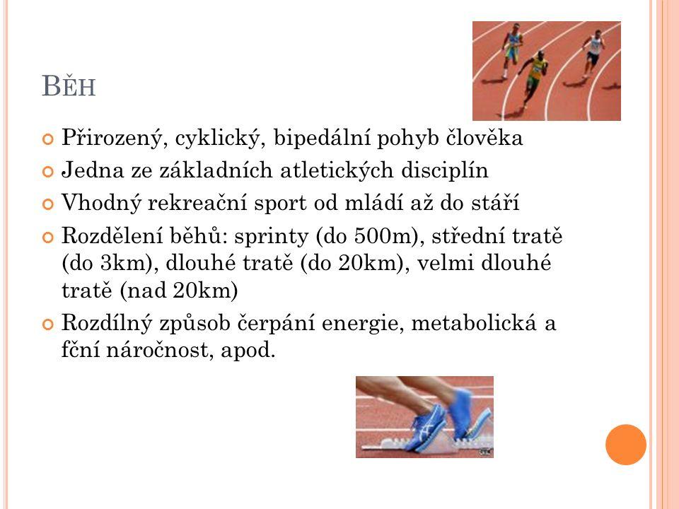 TÝDENNÍ PLÁN – SOUSTŘEDĚNÍ Odpoledne – 10min klus, rovinky, 30min rovinky s meziklusem, celý trénink na trávě, 10min klus Čtvrtek Ráno – 20min klus, rozcvička Dopoledne – 10min klus, rovinky, běžecké abecedy, trénink v tretrách (stupňované rovinky), rychlostní trénink (8x 150m s meziklusem – 1h) Odpoledne – 55min v terénu aerobním způsobem (únava, bolest svalů) Pátek - nachlazení Ráno – 15min klus, rovinky Odpoledne – basketbal, posilování trupu, odrazy, 35min klus